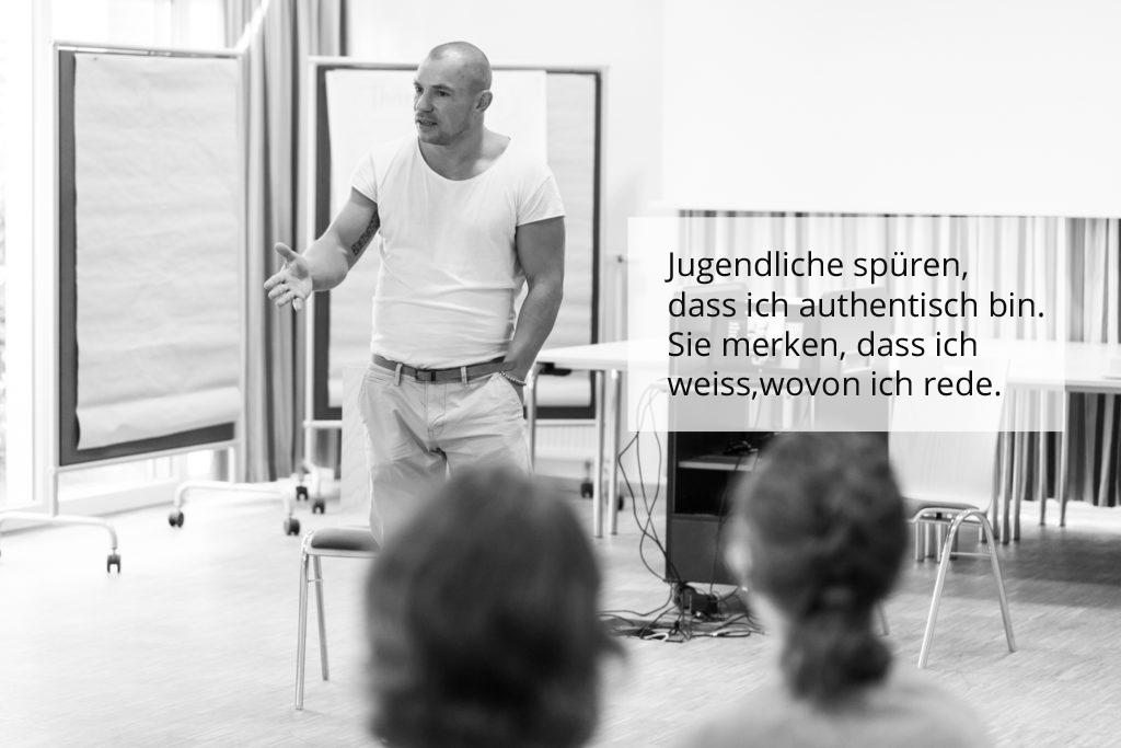 Jugenarbeit Christian Haas Gewaltpräventions-Training